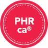 PHR CA credential badge