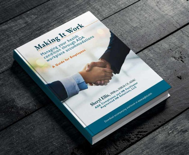Book cover of Making It Work shows a picture of two hands in a handshake.